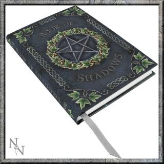 GOTHIC COLLECTION - Embossed Book of Shadows Ivy A5 Journal  - poznámková knižka