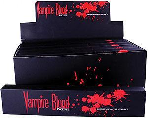GOTHIC COLLECTION - Vampire Blood Incense Sticks - vonné tyčinky