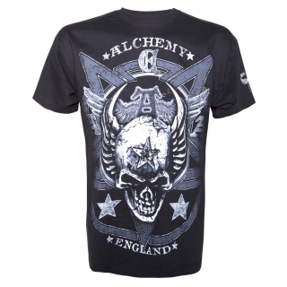 ALCHEMY - Satans Shield Solid Mens T-Shirt - pánske tričko