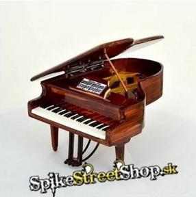 Mini Grand Piano - hnedé