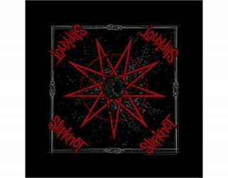SLIPKNOT - Nine Pointed Star - čierna bandana šatka