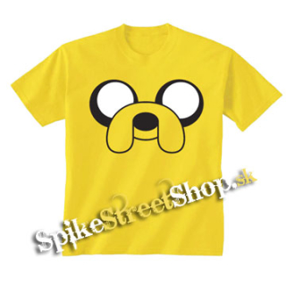 ADVENTURE TIME - Yellow Jake - žlté chlapčenské tričko