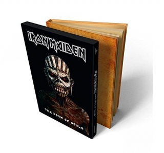 IRON MAIDEN - The Book Of Souls (2cd-deluxe hardbound book limited edition)