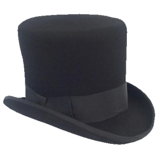 FREE AUTHORITY - Black Top Hat - cylinder