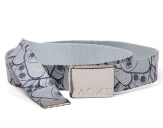 PLAYSTATION - Webbed Belt will Allover Print - opasok s prackou