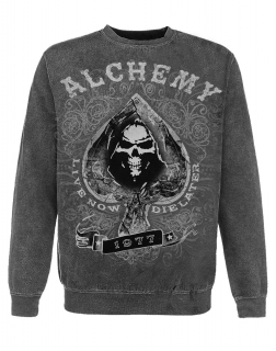 ALCHEMY - Aces of Hades Sweater - pánska mikina
