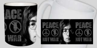 Hrnček JOHN LENNON - Peace Not War