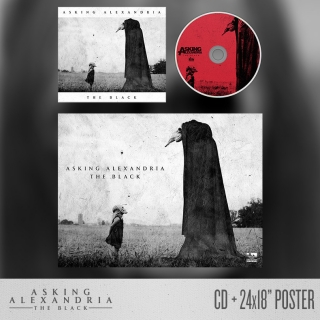 ASKING ALEXANDRIA - The Black (DE-LUXE cd + POSTER)