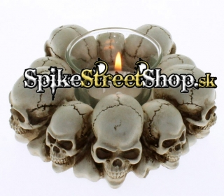 GOTHIC COLLECTION - Skull & Bones Circle - svietnik