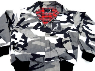 Bunda HARRINGTON - Metro Camo
