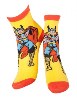 MARVEL COMICS - Thor and Mjolnir Socks - ponožky