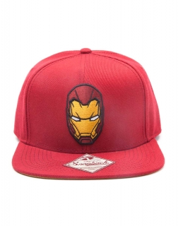 CAPTAIN AMERICA - Civil War Iron Man Snapback - šiltovka