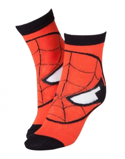 MARVEL COMICS - Spider-man Mask Socks - ponožky