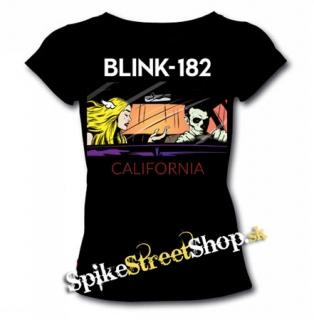 07861c079f BLINK 182 - California - dámske tričko
