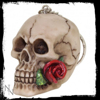 GOTHIC COLLECTION - Rose From The Dead Keyrings (4,6cm) - prívesok na kľúče