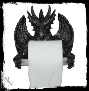 GOTHIC COLLECTION - Dragons TP Holder 22 cm - držiak na toaleťák