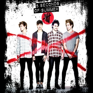 5 SECONDS OF SUMMER - Album Cover One - štvorcová podložka pod pohár