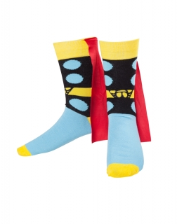MARVEL COMICS - Thor Cape Socks - ponožky