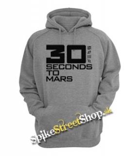 30 SECONDS TO MARS - Big Logo - šedá pánska mikina c7d2bc52cf1