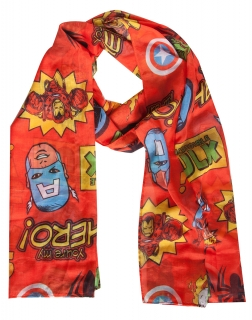 MARVEL COMICS - Comics Woven Fashion Scarf - šál