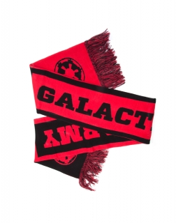 STAR WARS - Galactic Army Red and Black Scarf - šál