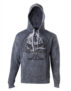 ALCHEMY - Risk It All Hoodie - sivá pánska mikina