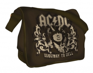 AC/DC - Highway To Hell Messenger Bag - taška na rameno (Výpredaj 2017)