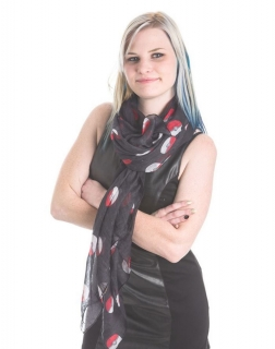 POKEMON - Poké Ball Scarf - šatka