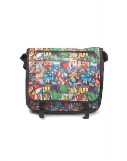 MARVEL COMICS - All Over Comic Style Messenger Bag - taška na rameno 462ef79c22b