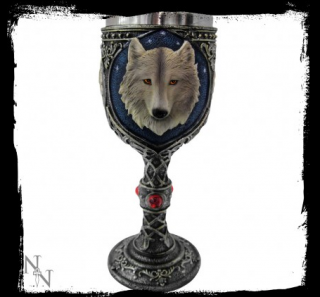GOTHIC COLLECTION - Lone Wolf Goblet 19,5cm - čaša