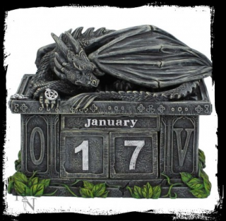 GOTHIC COLLECTION - Fortune's Keeper Calendar 10.8cm - kalendár
