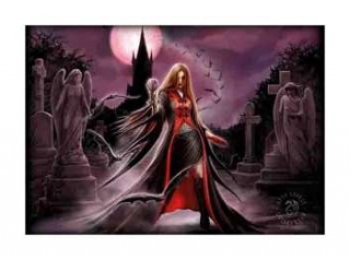 ANNE STOKES - Blood Moon - vlajka