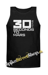 30 SECONDS TO MARS - Big Logo - Mens Vest Tank Top - čierne