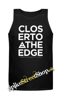 30 SECONDS TO MARS - Closer To The Edge - Mens Vest Tank Top - čierne