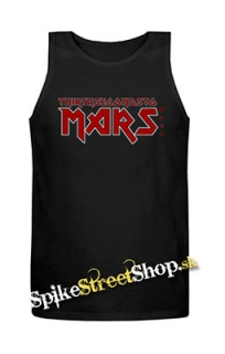 30 SECONDS TO MARS - Iron Maiden - Mens Vest Tank Top - čierne
