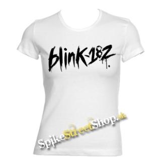 4bab883e16 BLINK 182 - Logo - biele dámske tričko