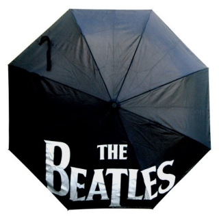 BEATLES - Drop T Logo With Refractable Fitting - dáždnik