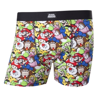 NINTENDO - Super Mario And Friends Boxershorts - boxerky