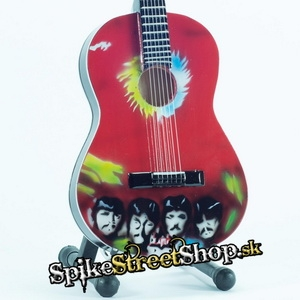 Gitara BEATLES - GIBSON CLASSIC SG.PEPPERS TRIBUTE - Mini Guitar USA