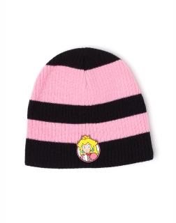 f4eaac264 NINTENDO - Princess Peach Striped Beanie - zimná čiapka