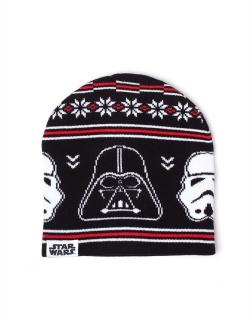 9ed57a606 STAR WARS - Darth Vader And Stormtrooper Beanie - zimná čiapka
