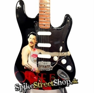 Gitara FREDDY MERCURY - QUEEN - TRIBUTE - Mini Guitar USA