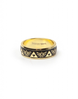 NINTENDO - Zelda Gold Engraved Ring - prsteň