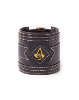 9d9f8b29a ASSASSINS CREED ORIGINS - Crest Wristband - kožený náramok