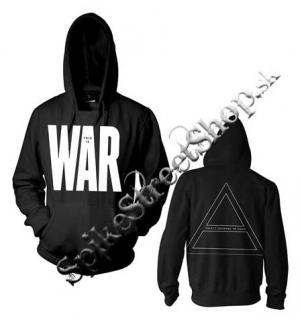 30 SECONDS TO MARS - This Is War Official Pullover Hoodie - mikina KLOKANKA