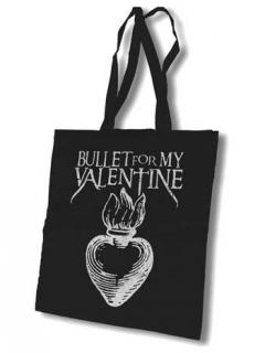BULLET FOR MY VALENTINE - Official Tote bag - taška cez plece