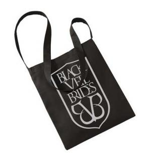 BLACK VEIL BRIDES - Shield Sling Cotton Tote Bag - taška cez plece