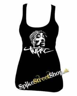2 PAC - Portrait - Ladies Vest Top