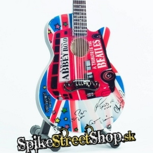 Gitara BEATLES - ABBEY ROAD TRIBUTE - Mini Guitar USA