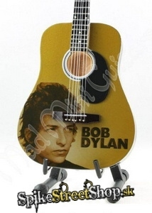 Gitara BOB DYLAN - TRIBUTE - Mini Guitar USA